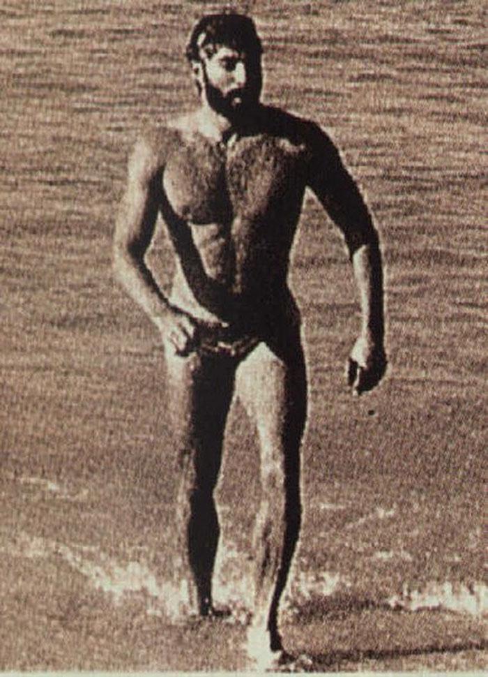 Gordon Haller, der erste Ironman