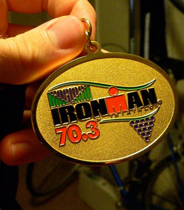 Ironman 70.3 Medaille