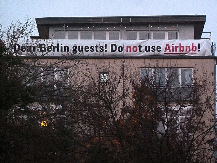 Airbnb Kritik, Berlin
