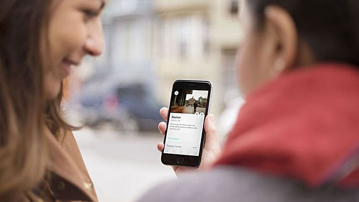 Airbnb Mobile Anwendung