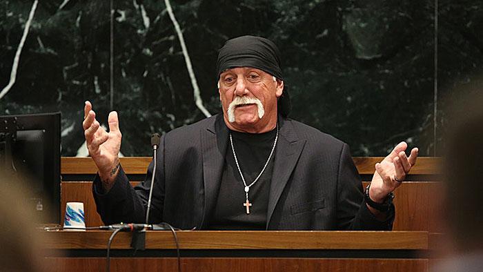 Hulk Hogan im Gerichtssaal