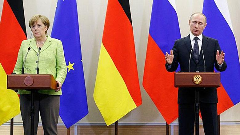 Merkel-Putin Treffen in Sotschi