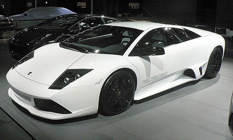 Lamborghini Murciélago LP640 Roadster im Versace-Design