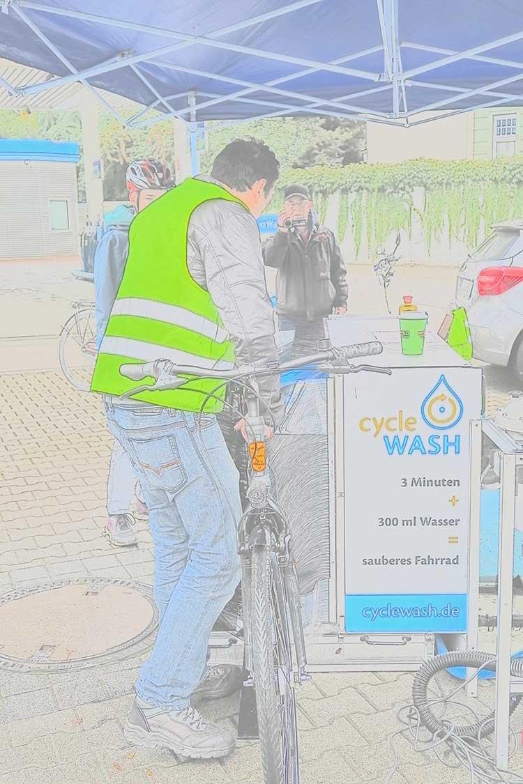 Sachin Kumar cycleWASH