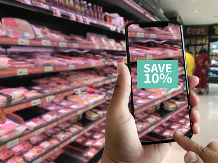 Augmented Reality beim Einkaufen