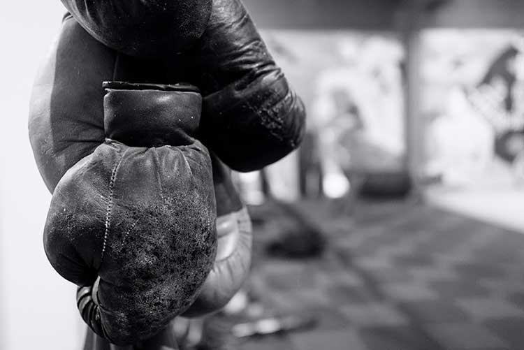 Alte Boxhandschuhe
