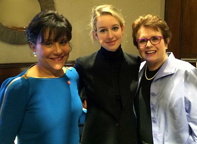 "Elizabeth Holmes at the Fortune's ""Most Powerful Women Summit"""