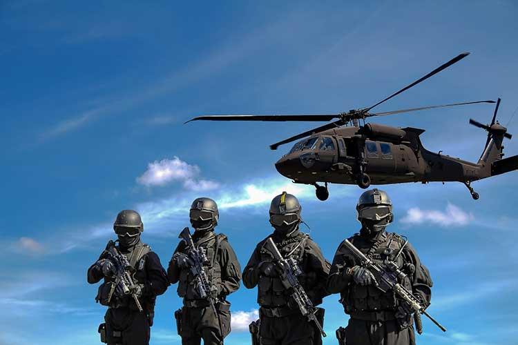 Sicherheit Militär